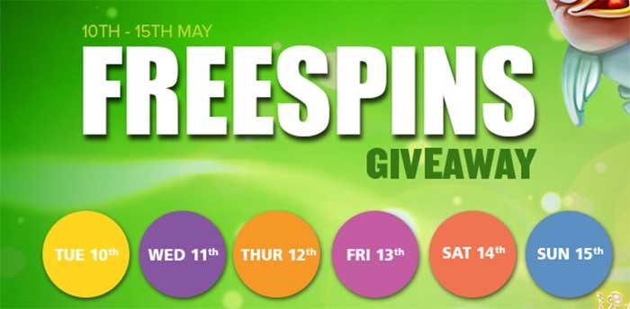 CasinoLuck Free Spins Week!