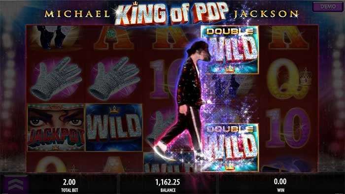 Michael Jackson King of Pop Slot