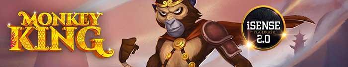 Monkey King Slot Yggdrasil Logo