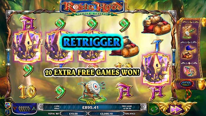 Robin Hood Prince of Tweets Slot - Nextgen