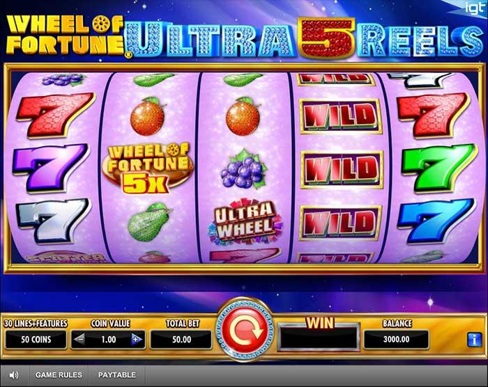 Wheel of Fortune Ultra 5 Reels Slot - IGT