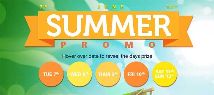 CasinoLuck Summer Promotions 2016