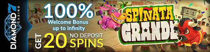 Spinata Grande 20 free spins