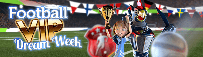 Football Champions Cup Slot Prize Draw