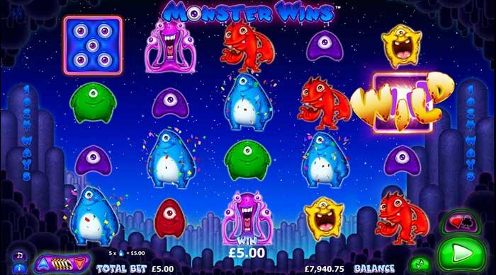 Monster Wins Slot Nextgen