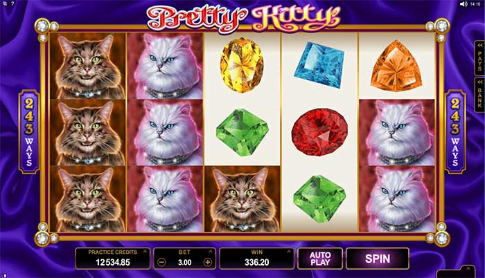Pretty Kitty Slot Microgaming