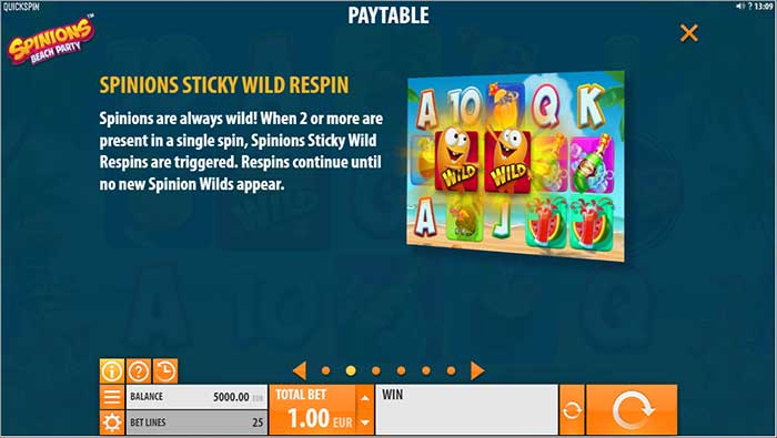 Spinions Slot Quickspin