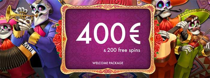 Chance Hill Casino Welcome Bonuses
