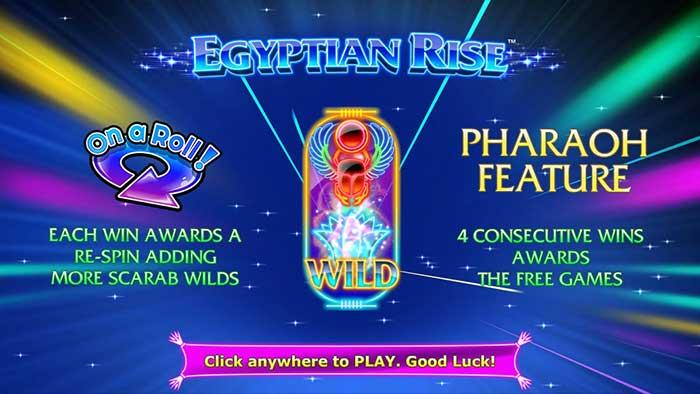Egyptian Rise Slot - Nextgen
