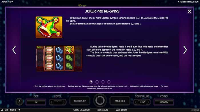 Joker Pro Slot - NetEnt