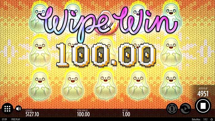 Babushkas Slot Wipe Win