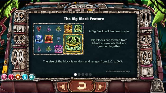 Big Blox Slot Block Feature