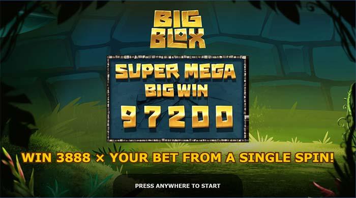 Big Blox Slot Super Mega Win