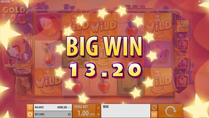 Gold Lab slot big win