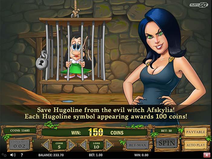Hugo Slot free spins bonus