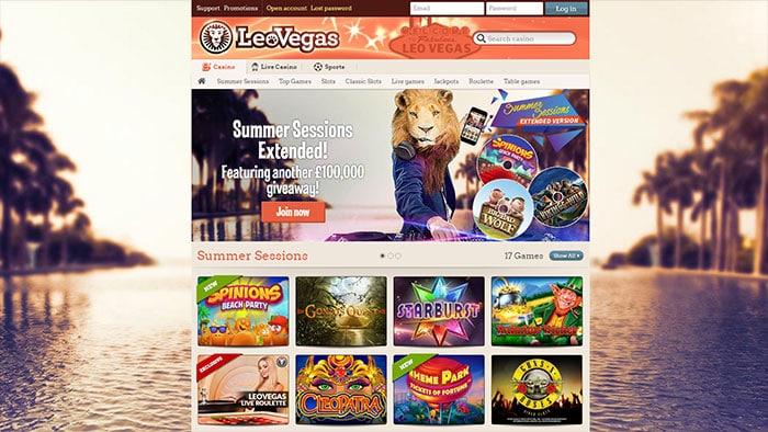 Leo Vegas Bonuses 2016