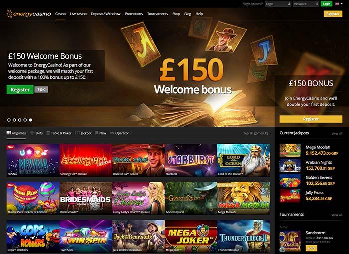 New Energy Casino 2016