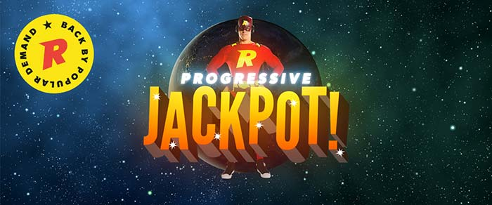 Rizk Casino Progressive Jackpot Promotion