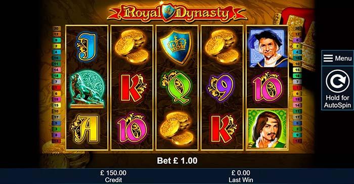 Royal Dynasty Slot - Novomatic