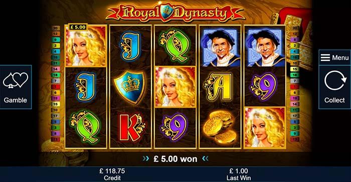 Royal Dynasty Slot Bonus Trigger