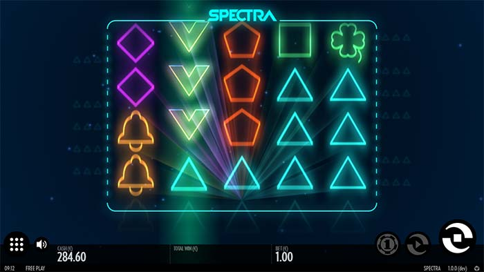 Spectra Slot nudging wilds