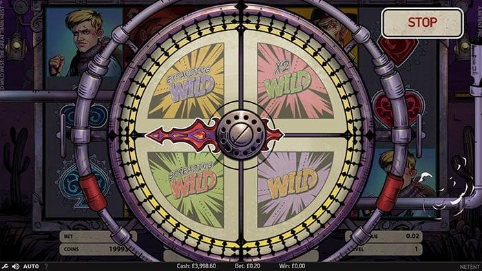 Wild Wild West Slot - NetEnt
