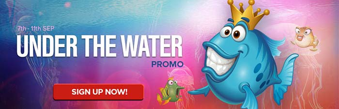 nextcasino under the water promotions