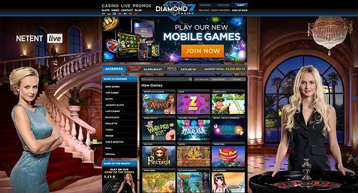 Diamond 7 Casino Live Dealers