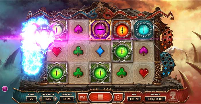 Double Dragons Slot base game