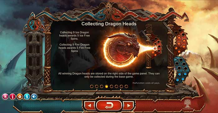 Double Dragons - collecting Dragons Heads