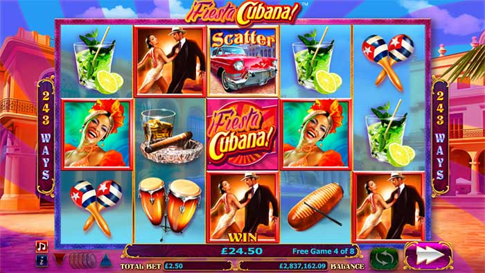 Fiesta Cubana base game