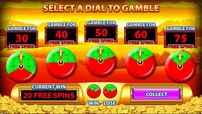 Raindbow Riches - Reels of Gold slot base game