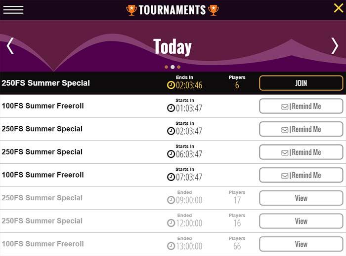 Slots Magic Free Roll Tournaments