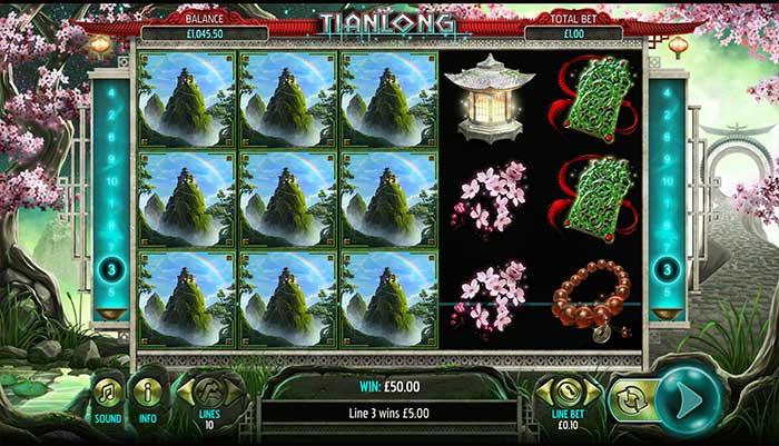 Tianlong Slot Base Game