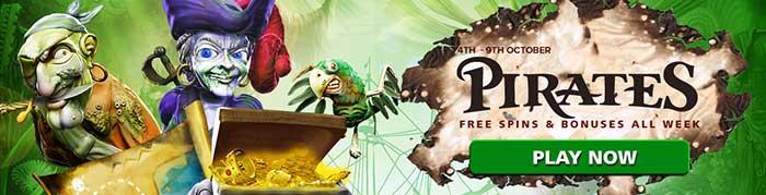CasinoLuck Pirates Promotions week