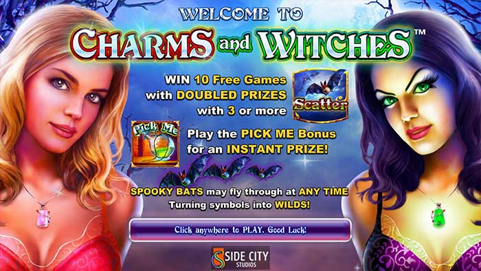 Charms and Witches Slot Intro