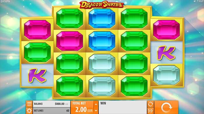 Dragon Shrine Slot base game
