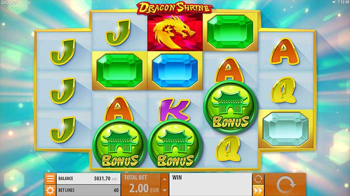 Dragon Shrine Slot free spins