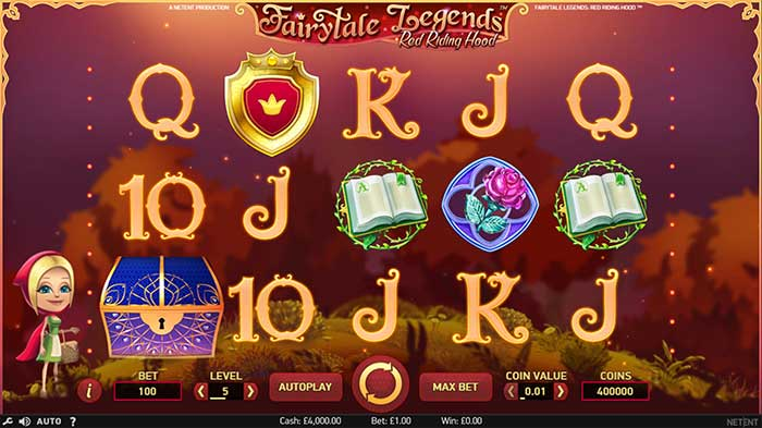 Fairytale Legends - Red Riding Hood Slot base game
