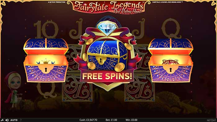Fairytale Legends - Red Riding Hood Slot free spins