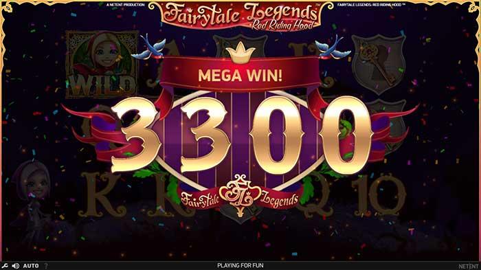 Fairytale Legends - Red Riding Hood Slot mega win