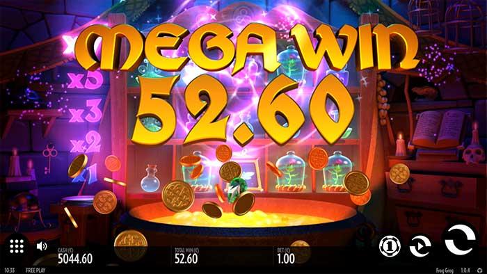 Frog Grog Slot Mega Win