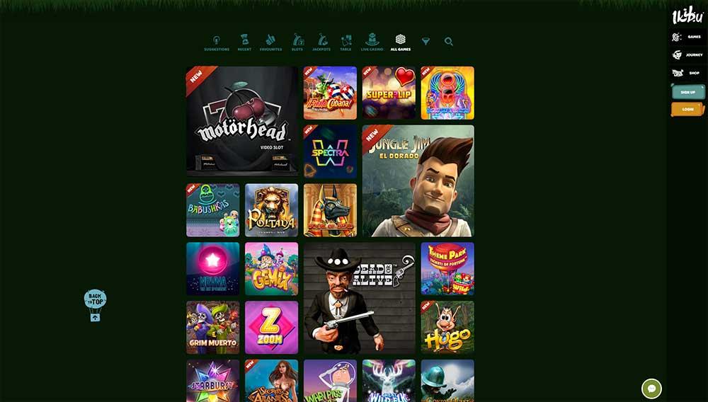 Ikibu Casino range of slots