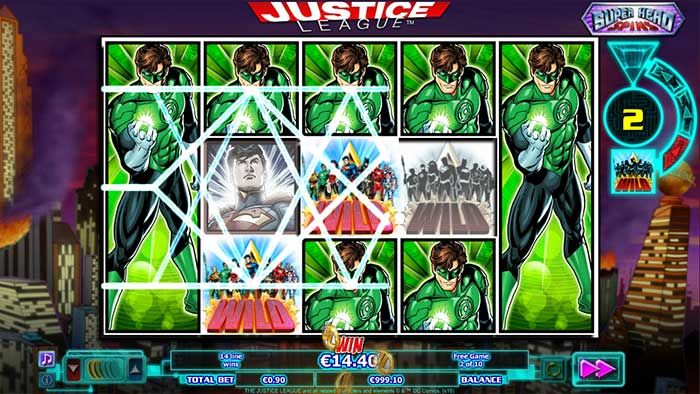 Justice League re-spins feature
