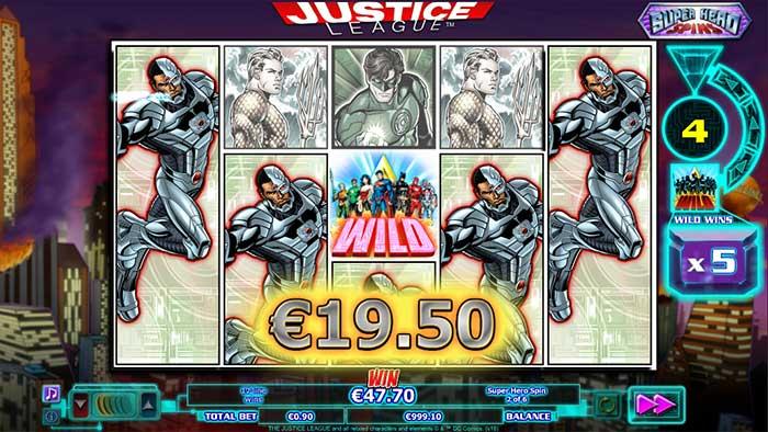 Justice League big win