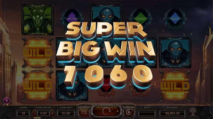 Super Heroes Slot big win