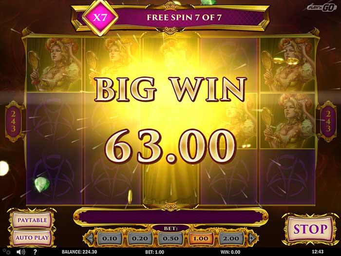 7 Sins Slot big win