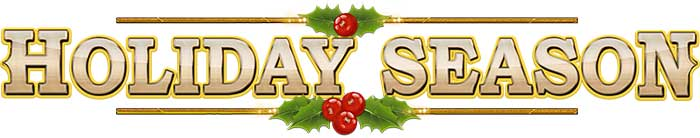 Holiday Season Slot Logo
