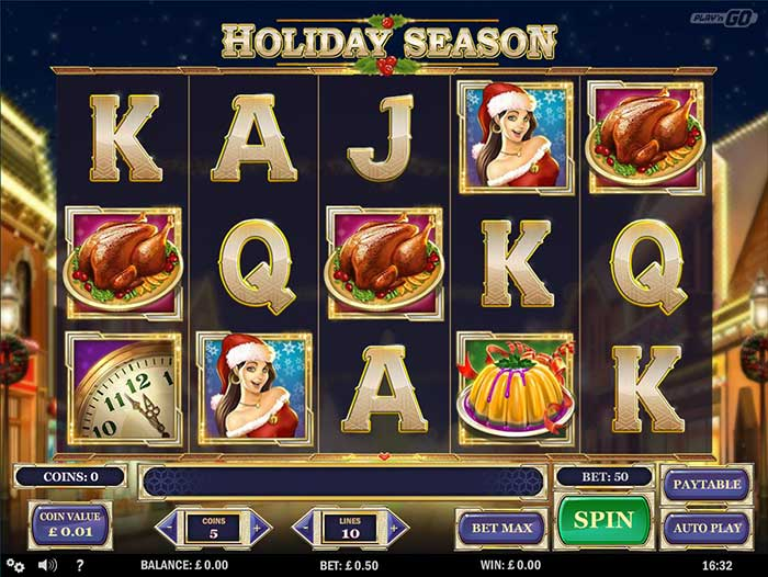 Holiday Season Slot Play