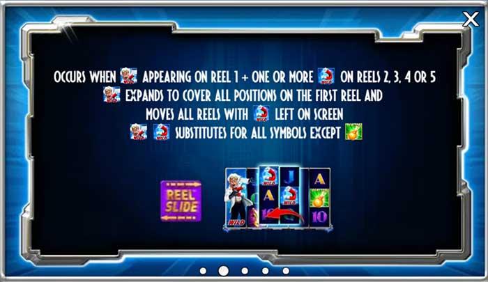 Reel Attraction slot - reel slide feature